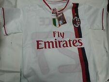 MAGLIA BIANCA AC MILAN 2012 KEVIN PRINCE BOATENG TAGLIA 4 ANNI UFFICIALE YEARS 3