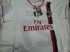 MAGLIA BIANCA MILAN 2012 PATO TAGLIA 10 ANNI YEARS UFFICIALE CALCIO AWAY 7 8 9