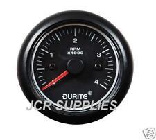 DURITE MARINE LED 12/24V TACHOMETER  0-4000 RPM 052510