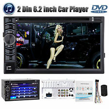 "2Din 6.2"" Car Stereo CD DVD Player Bluetooth Touchscreen For Chevrolet Silverado"