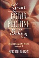 Great bread machine baking: Over 250 recipes for b