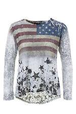 Figurbetonte Hüftlang Damenblusen,-Tops & -Shirts mit Synthetik für Freizeit