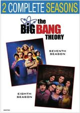 The Big Bang Theory: Season 7 And Season 8 [New DVD] Shrink Wrapped, 2 Pack, B