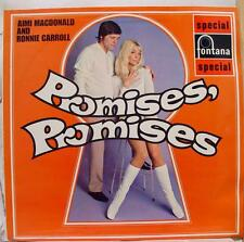Aimi Macdonald Ronnie Carroll - Promises, Promises LP Mint- UK SFL 13192 Vinyl