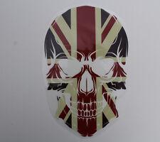 Aufbügler Transferfolie Totenkopf  ca. 26 x 16,5 cm England Skull Bügelbild