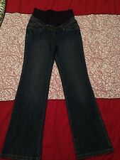 Pumpkin Patch Maternity Womens Jeans Denim Pants Size 6 XS Extra Small Blue