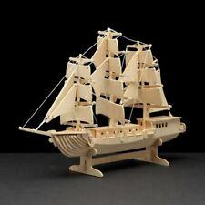 PEBARO Holzbausatz Segelschiff 80 Teile ab 8 Jahren