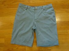 Men's Under Armour Golf Gray Shorts Size 34