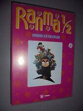 DVD N° 5 RANMA 1/2 EPISODI 17 18 19  20