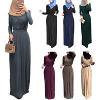 Women Maxi Dress Ramadan Abaya  Muslim Party Robe Dubai Gown Islam Kaftan Jilbab