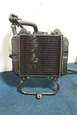 89-07 KAWASAKI EX 250 R NINJA RADIATOR W/ FAN BRACKETS CAP HOSES THERMO SWITCH
