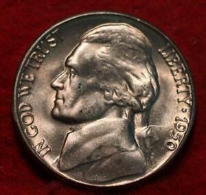 Uncirculated 1950-D Denver Mint Jefferson Nickel Not Silver
