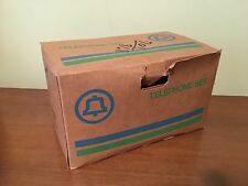 Vintage Bell General Electric 500 GREEN Rotary Telephone w Box