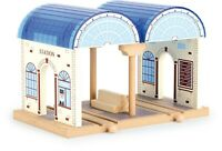 Legler Small Foot Wooden train Railway Central Station 8559 Toy bigjigs brio