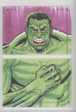 2017 Upper Deck Marvel Premier Sketch Cards Dual Panel #ALLU Alex Lugo 1/1 z2j