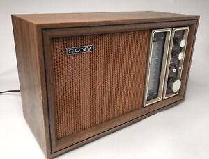 VINTAGE SONY AM/FM TABLE RADIO MODEL TFM 9450W WORKING GREAT