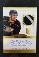 2013-14 PANINI DOMINION EMERSON ETEM ROOKIE AUTO PATCH #ED 38/50