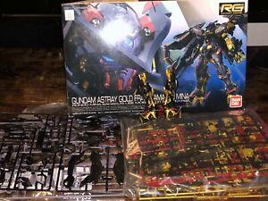 Bandai 1/144 RG24 Gundam Astray Gold Frame Amatsu Mina Plastic Model Kit