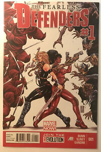Fearless Defenders 1 Marvel Comics Mark Brooks VF+ Beautiful!!