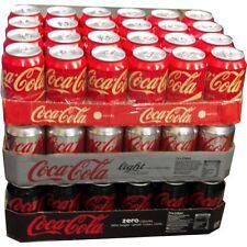 """Coca Cola Vanilla, Light & Zero je 24 x 0,33l Dose XXL-Paket """"72 dosen total"""""""