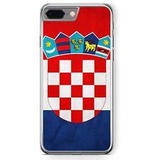 iPhone 7 Plus - Hard Case Hülle Kroatien Hrvatska Croatia Motiv Design Schutz C