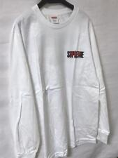 SUPREME AKIRA T SHIRT LONG SLEEVES WHITE SMALL NEW FASHION MEN AUTHENTIC JAPAN