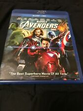 Marvel's The Avengers [2012, Blu-Ray+DVD] Very Good Condition