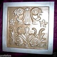 Victorian plaque mold plaster concrete resin casting mould