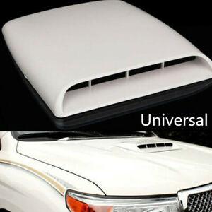 ABS Plastic Car Air Flow Intake Hood Bonnet Cover Cars Accessories Universal 1Pc