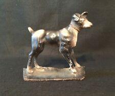 Vintage Cast Iron Door Stopper Dog Boxer or Terrier