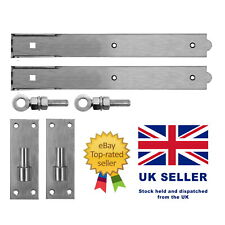Stainless Steel Adjustable Hook & Bands with Fixings - Field Garden Gate