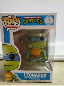 Funko Pop! Teenage Mutant Ninja Turtles TMNT Leonardo #63 Figure