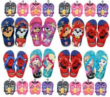 New Kids Boys Girls Flip Flops Summer Beach Slippers Strap Shoes Toddler Sandals