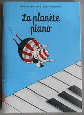 LIVRE CD ENFANT LA PLANETE PIANO Francois Delecour & Sophie Chaussade - NAIVE