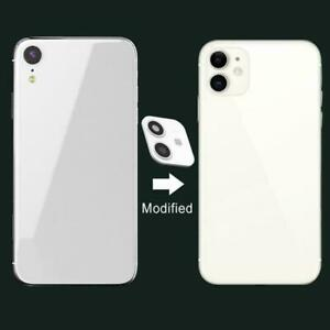 For iPhone XR Camera Sticker Lens Cover Change To Fake iPhone 11 Model T5J hot.