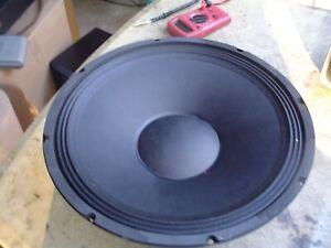 "Seismic 15"" Bass Woofer Speaker 8 ohm"