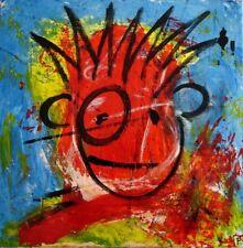 Art BRUT - Toile 40 x 40 cm -.