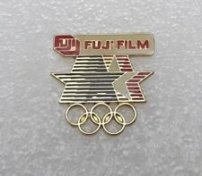 "1984 Los Angeles Olympic Games Fuji Film ""Stars/Rings Cutout"" Pin"