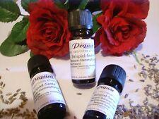 Aroma- & ätherische Öle mit Tropfflasche und Vanille