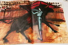 BERNARD BUFFET CATALOGUE VINS NICOLAS 1963