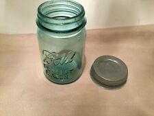 Blue Ball Mason Jar # 9 With Lid