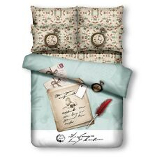 DM500K Duvet Cover Set Luxury Retro Style King Size Bedding by Dolce Mela