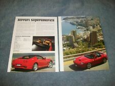 2005 Ferrari Superamerica New Car Info Article