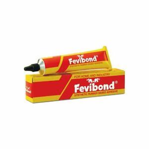 Pidilite Fevibond pour Collage Cuir, Caoutchouc, Rexine - 90ml (Paquet De 1)