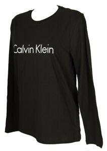 Women's long sleeve crew neck t-shirt woman CK CALVIN KLEIN item QS6164E L / S C
