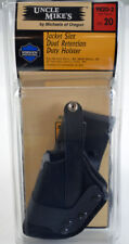 Uncle Mike's Jacket Slot Dual Retention Duty Holster #9820-2 Size20 Beretta