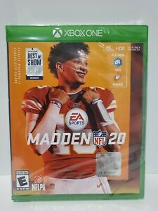 XBOX ONE MADDEN 20 BRAND NEW STANDARD EDITION