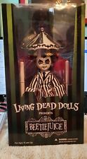 Living Dead Dolls Beetlejuice Carnival Showtime Hortor Halloween  Ra