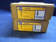 NEW ILSCO CPM-2/0 wire reducer cu Pigtail Adaptor SZ 2/0AWG qty 1 per bid