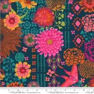 Kasada Bazaar Floral Print-Moda Fabrics-BTY